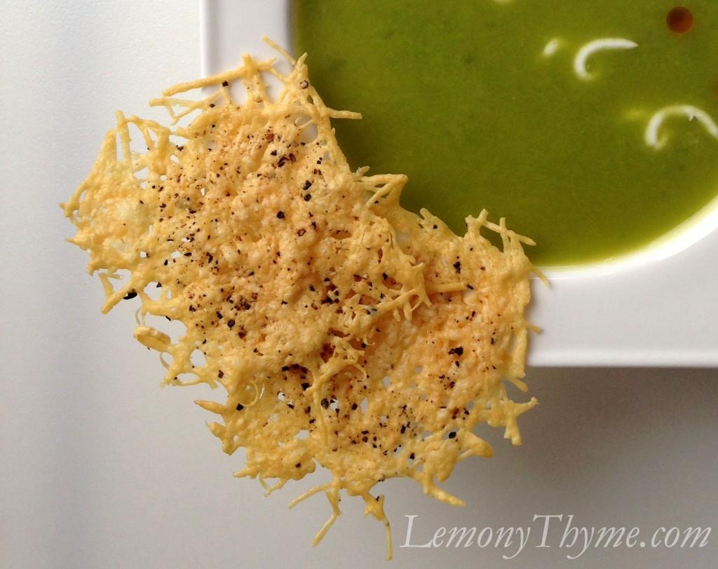 Parmesan Crisps Lemony Thyme