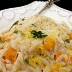 Lemony Thyme Orzotto