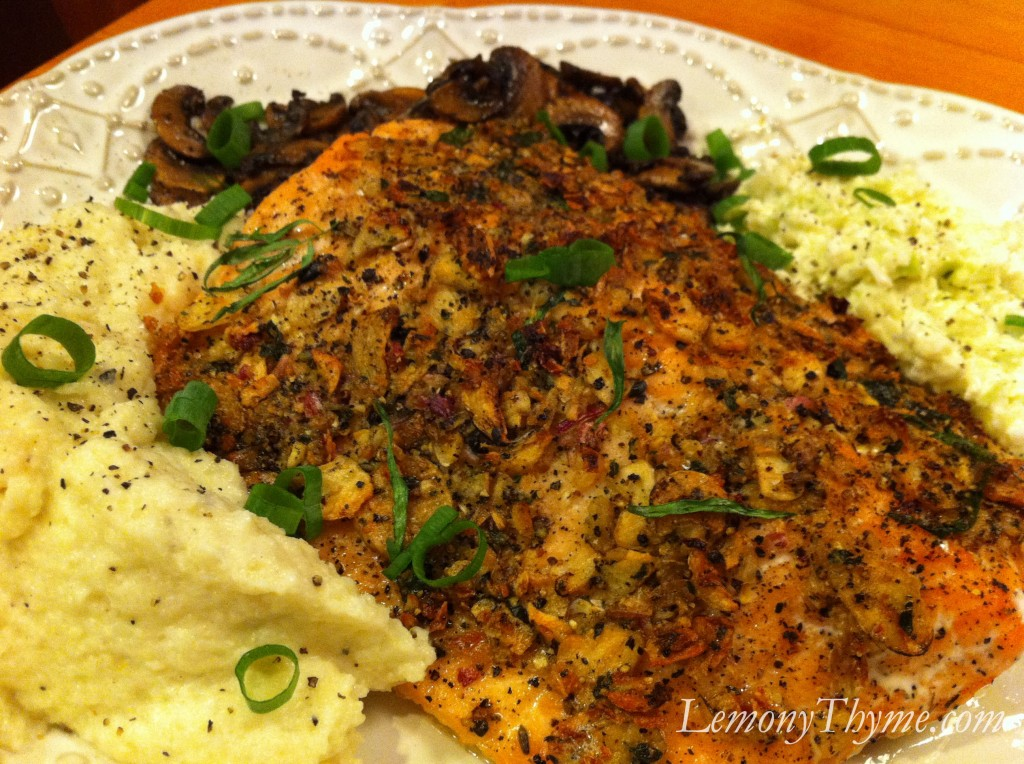 Slow-Roasted Salmon with Tarragon and Citrus Lemony Thyme