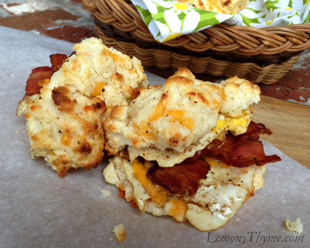 Bacon Onion Cheddar Biscuits Recipes — Dishmaps