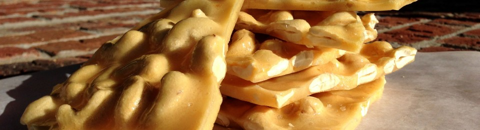 Cashew Brittle {Easy as 1-2-3} Lemony Thyme
