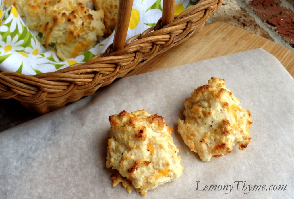 Cheddar Bacon Buttermilk Biscuits Recipe — Dishmaps