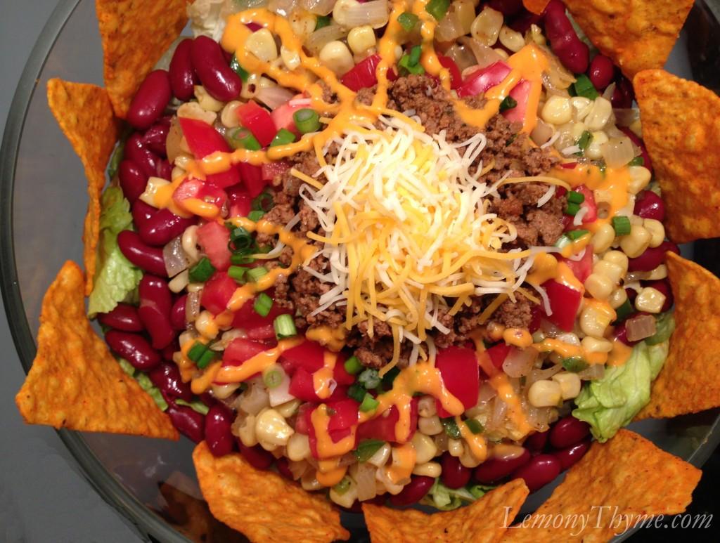 Taco Salad {with Doritos}