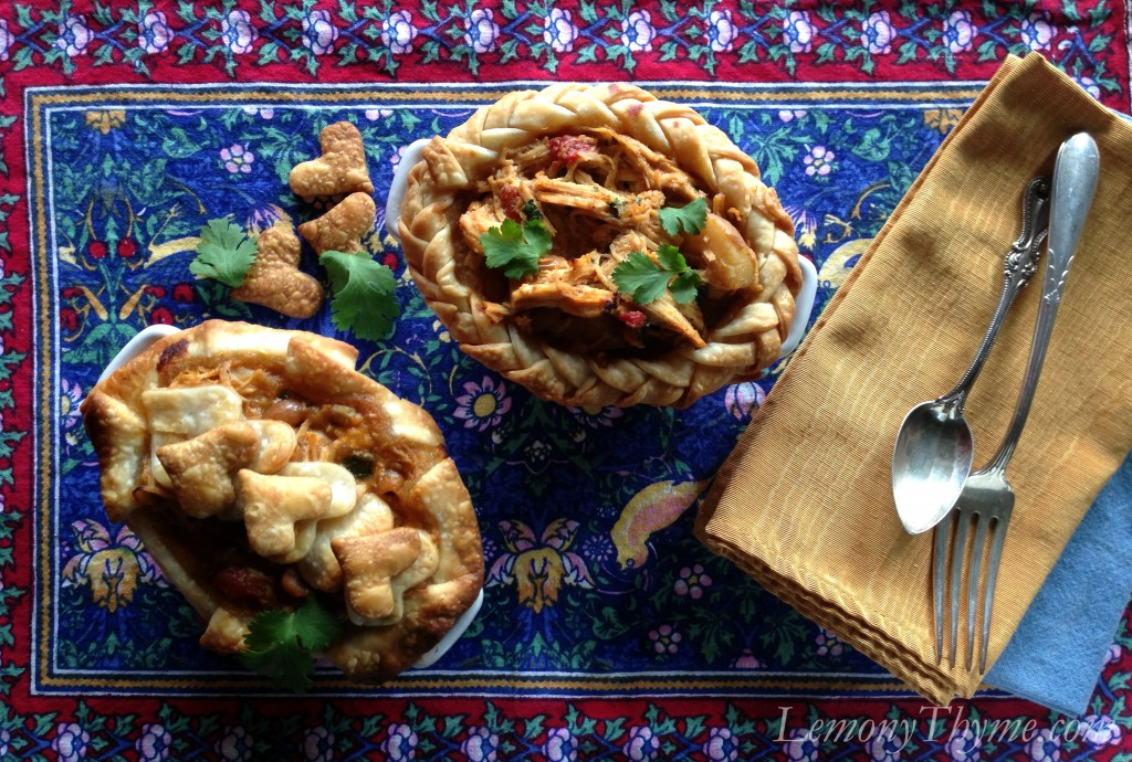 African Chicken Peanut Stew {Pot Pies} Lemony Thyme