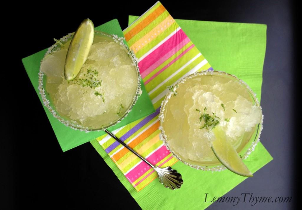 Margarita Granita Lemony Thyme
