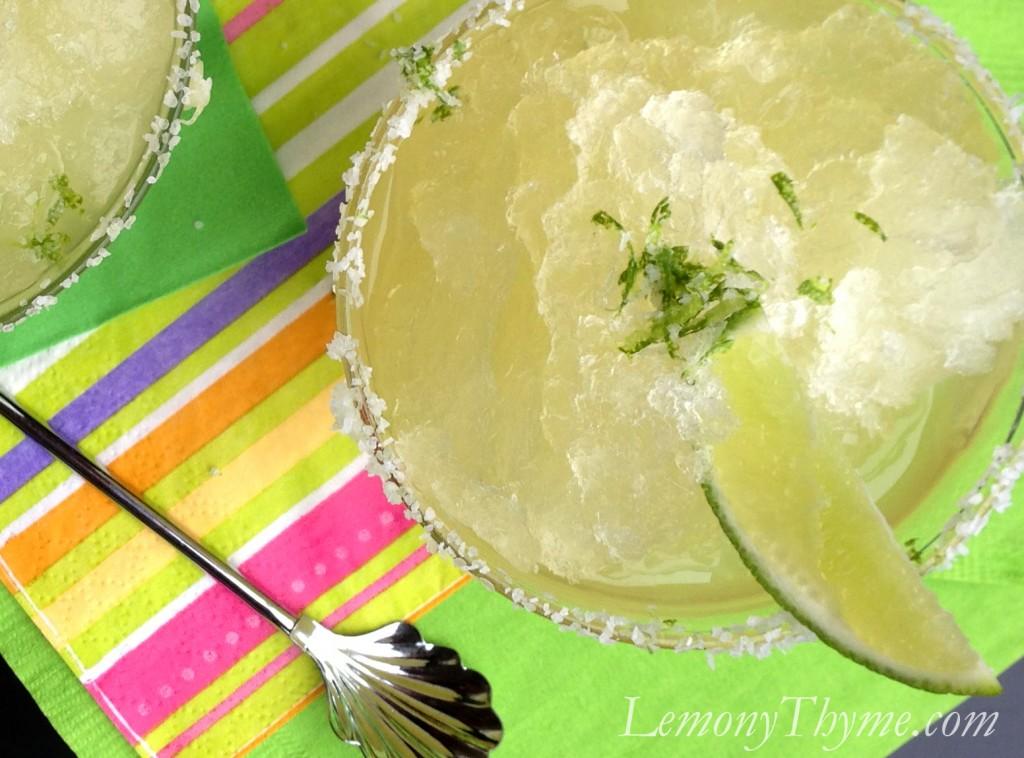 » Margarita Granita Lemony Thyme