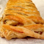 Sausage Peppers Caramelized Onion & Mushrooms Stromboli