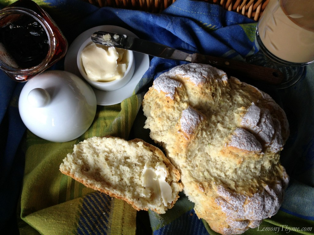 Brown Butter Irish Soda Bread {with Rosemary & Cracked Black Pepper ...