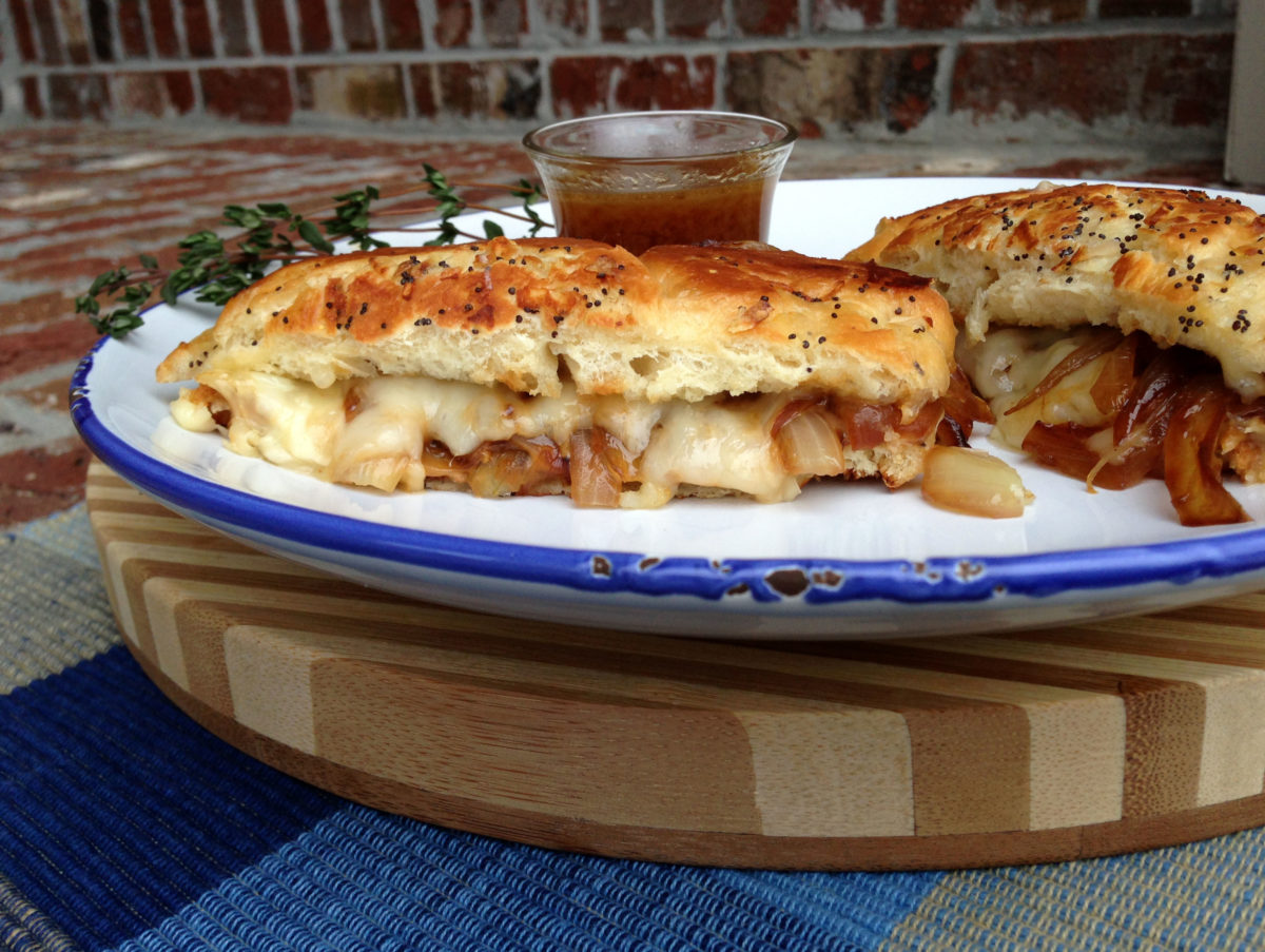French Onion Soup Grilled Cheese Lemony Thyme