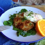 Herbed Potato Pancakes with Fried Eggs