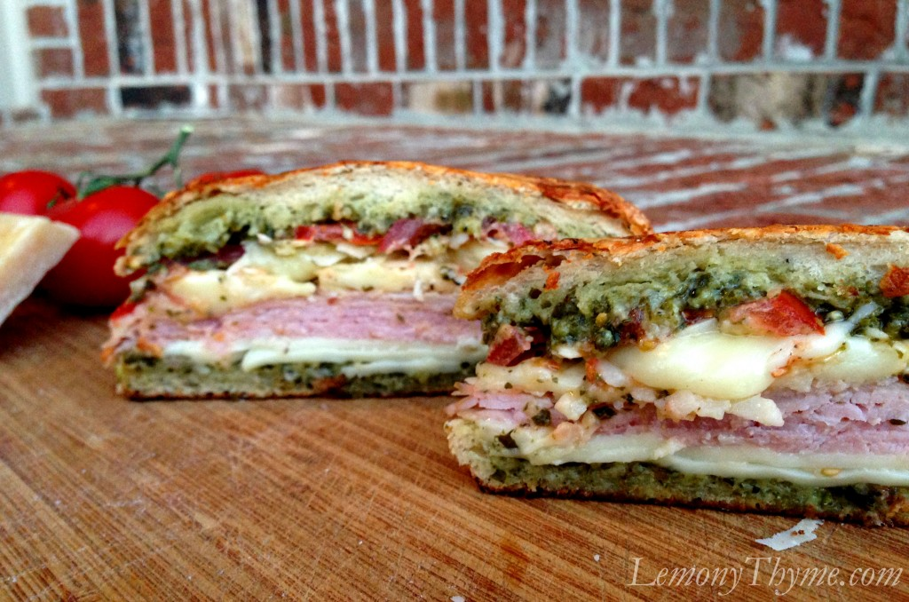 Sundried Tomato Pesto Grilled Cheese Sandwich Recipes — Dishmaps