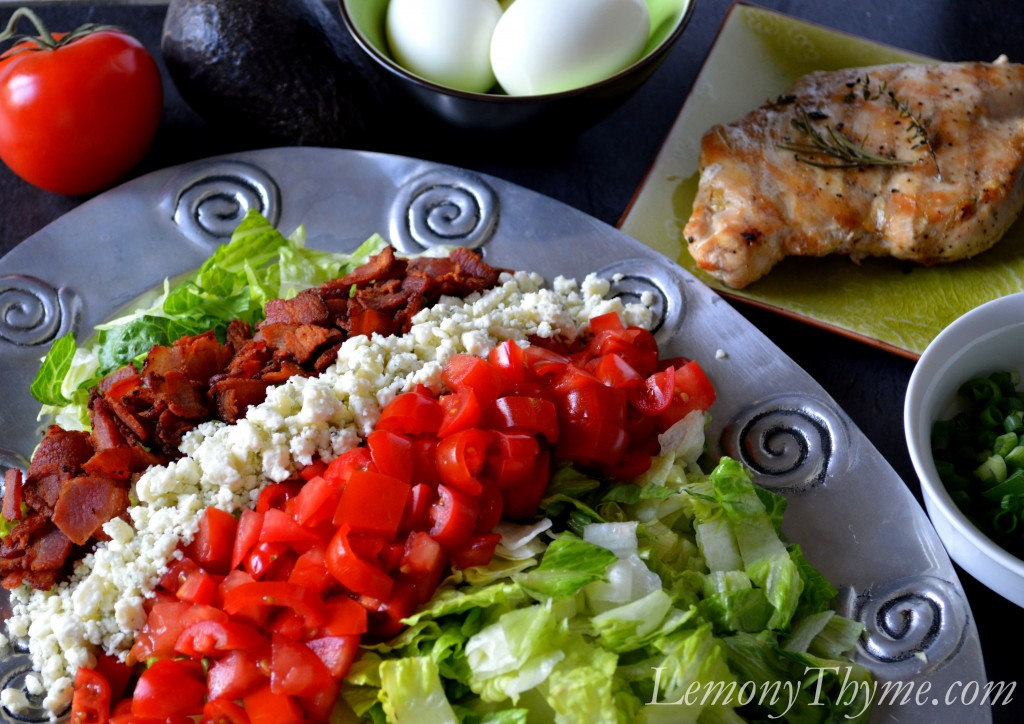 The classic Cobb Salad Dressing is a Red Wine Vinaigrette . However ...