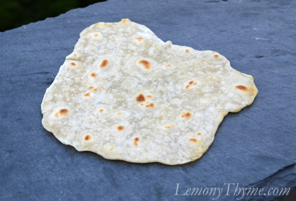 ... four ingredients and 30 minutes away from Homemade Flour Tortillas