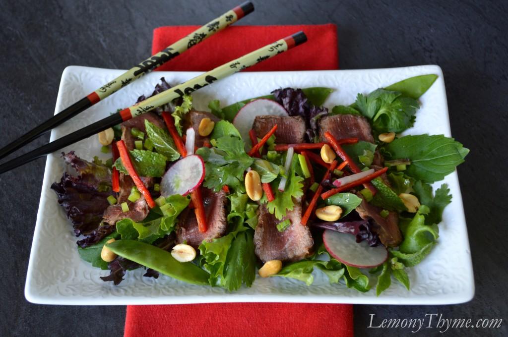 ... salad thai steak salad recipe myrecipes com thai style steak salad