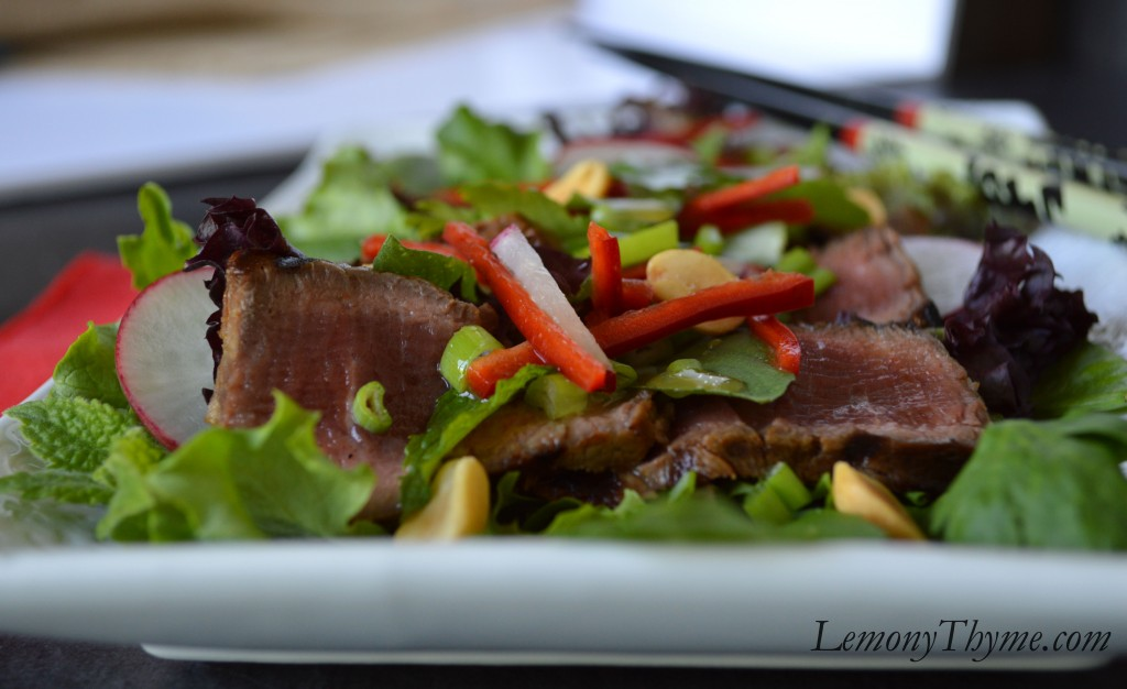 flank steak salad with grilled stuffed flank steak this thai style ...