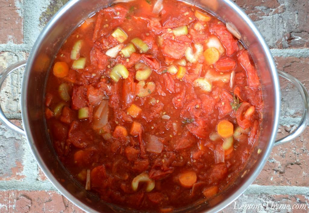 Homemade Fresh Tomato Juice {Vegetable Juice} Lemony Thyme