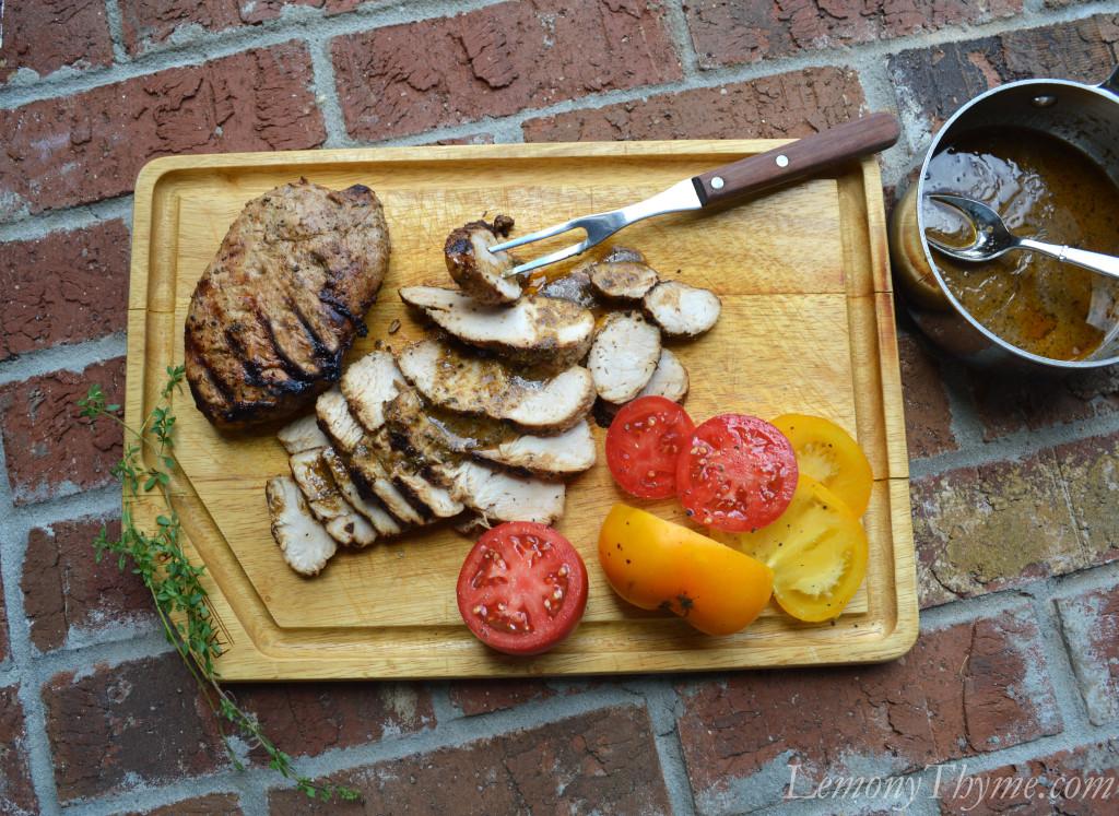 Marinated Turkey Tenderloin {with Benny Sauce}2