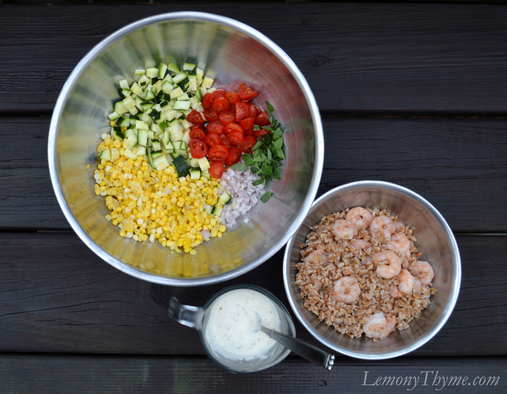 summer farro salad simple summer farro salad recipe key ingredient