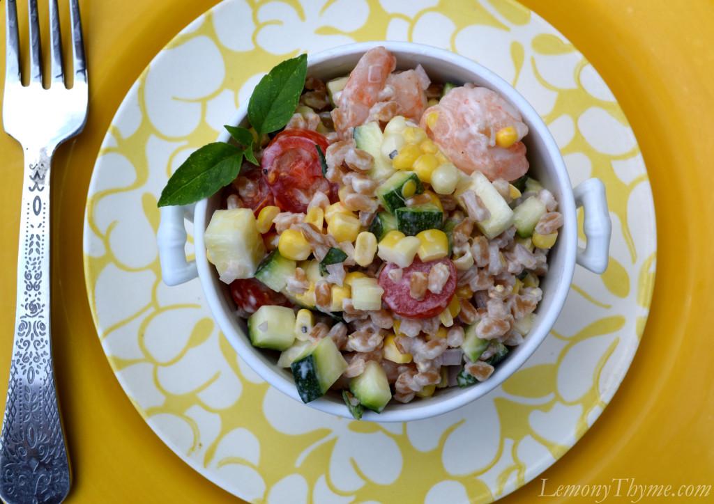 ... summer farro salad simple summer farro salad recipe key ingredient
