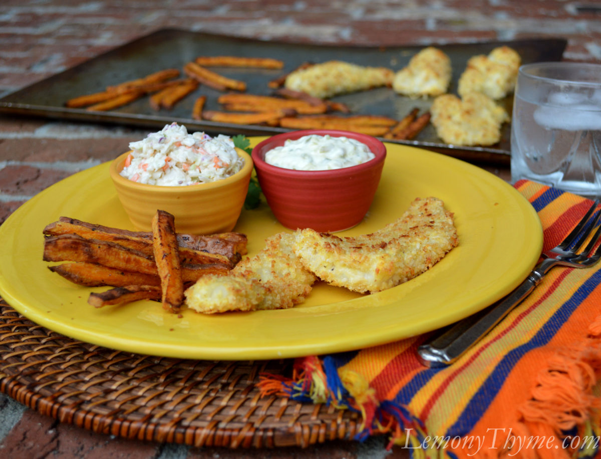 Permalink to: Parmesan Crusted Homemade Fish Sticks