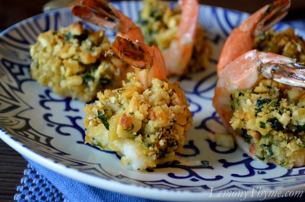 Baked Stuffed Shrimp