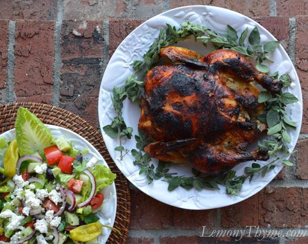Greek Whole Roasted Chicken1