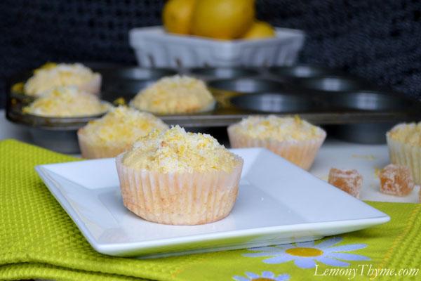 Lemon Ginger Muffins Lemony Thyme