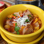 Italian Sausge, Peppers & Onions Soup5