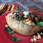 Southwest Baked Potato with Cottage Cheese1