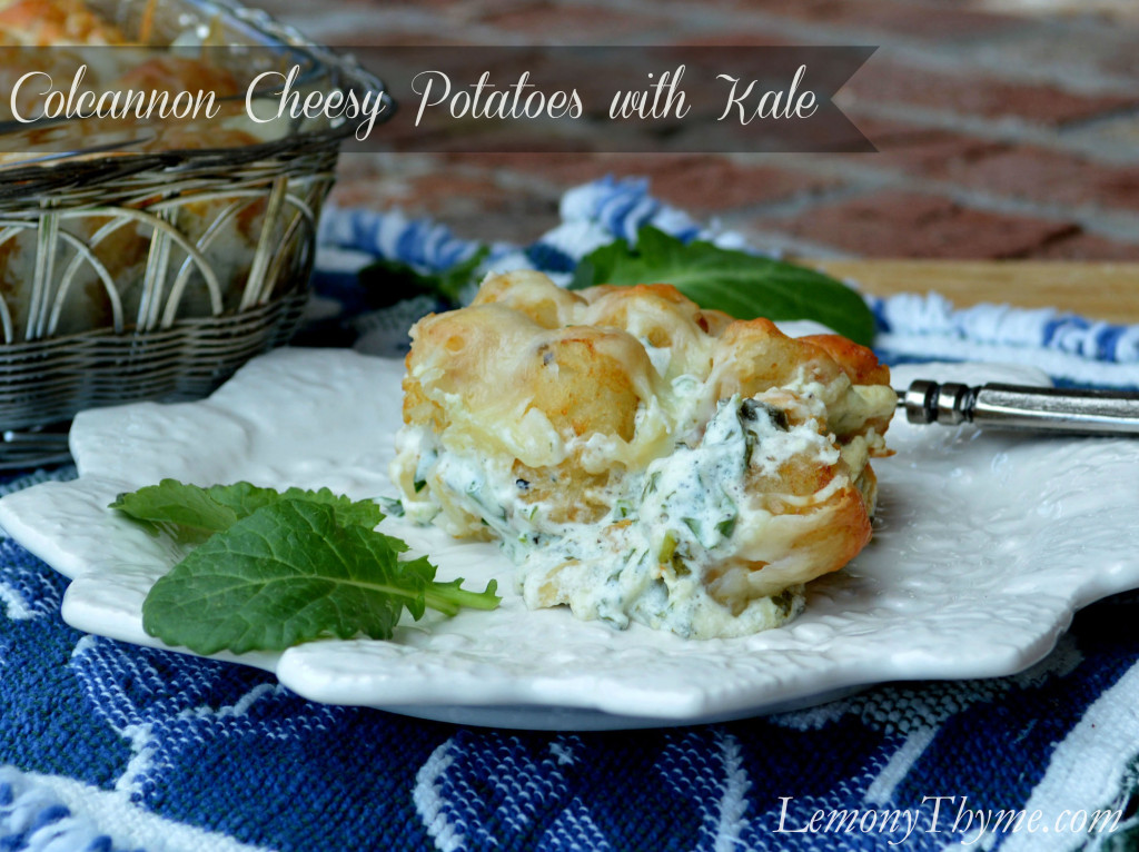 Colcannon Cheesy Potatoes with Kale