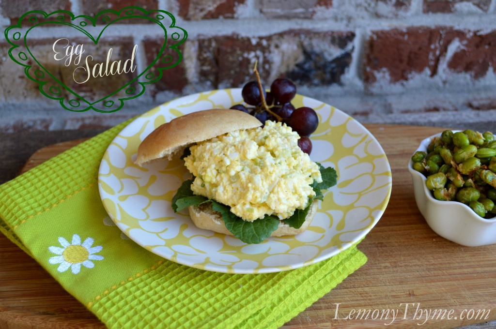 Egg Salad with Banner