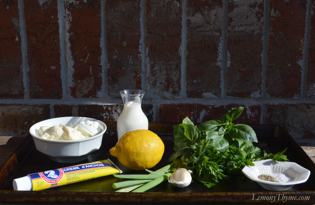 Classic Salad Recipes inspired me to make Green Goddess Dressing ...