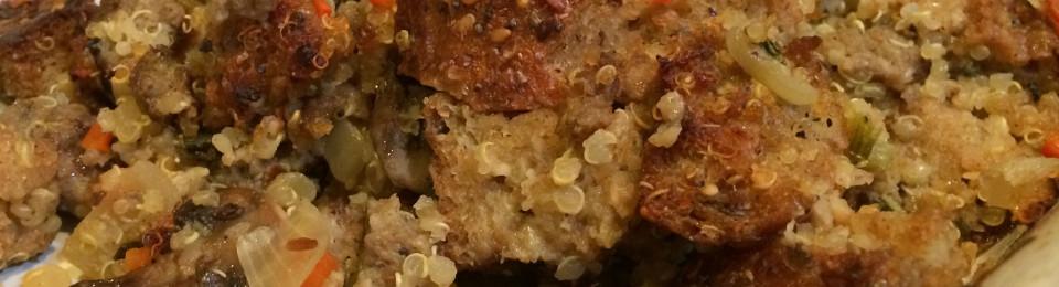 Sausage & Mushroom Stuffing1