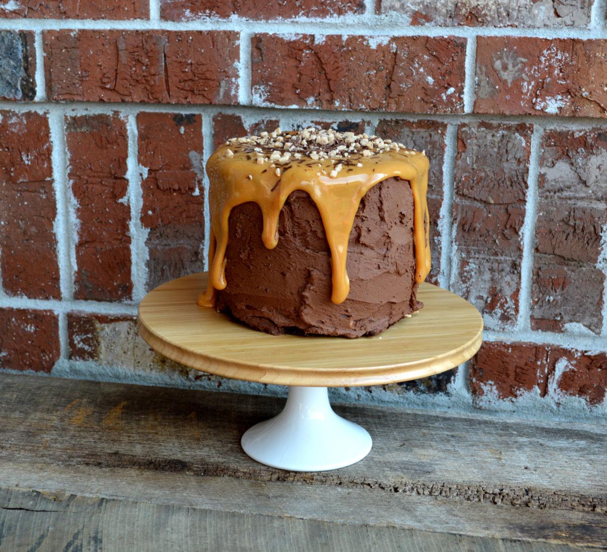 Triple Chocolate Mayonnaise Cake1