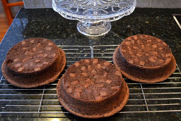 Triple Chocolate Mayonnaise Cake5