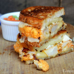 Roasted Buffalo Cauliflower Grilled Cheese2