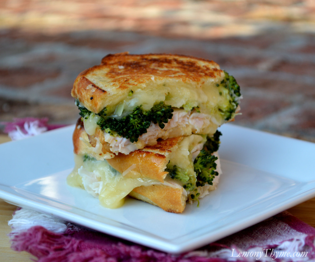 Turkey divan grilled cheese sandwich lemony thyme for Divan turkey