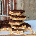 Chocolate & Peanut Butter Pretzel Squares1
