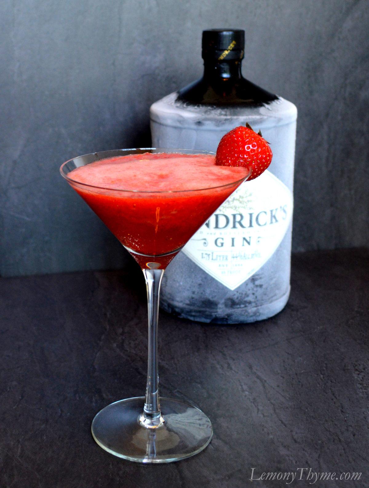 London Strawberry Martini2