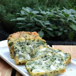 Spinach & Goat Cheese Quick Bread