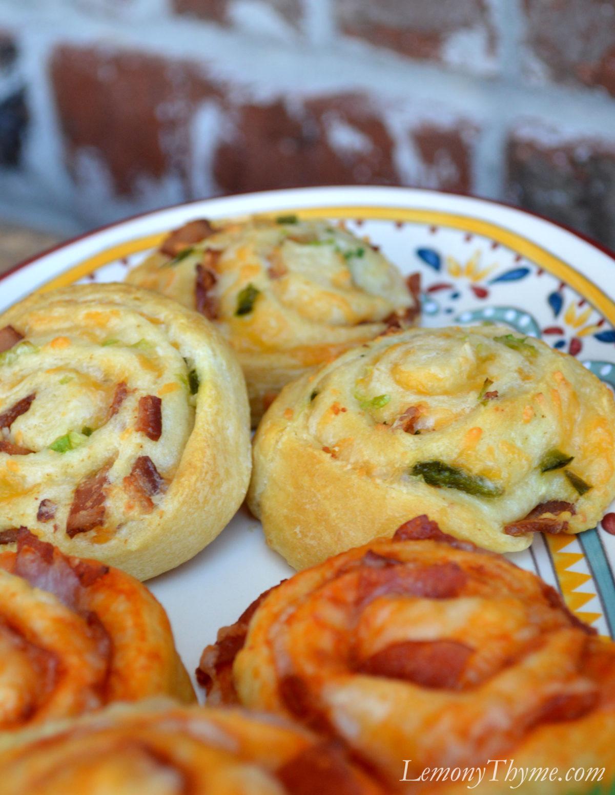 » Bacon Cheddar Jalapeno Pinwheels Lemony Thyme