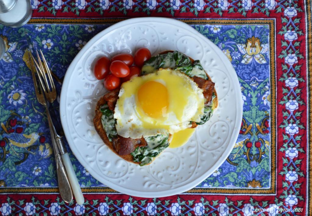 Eggs Florentine {Happy Hollandaise}