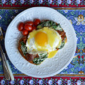 Eggs Florentine from Lemony Thyme