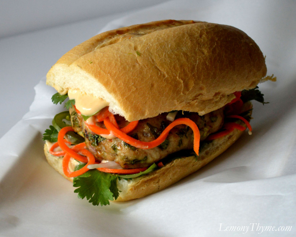 ... introduced the Vietnamese Banh Mi to B. I gave him a Banh Mi