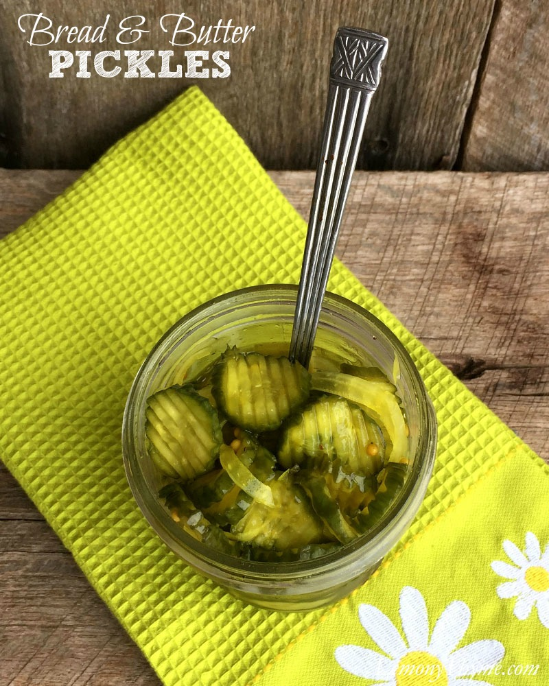 Bread & Butter Pickles | LemonyThyme.com