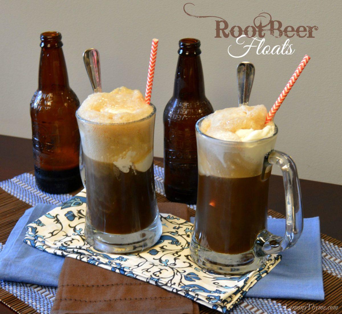 Root Beer Floats   LemonyThyme.com