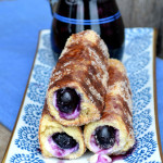 Blueberry Cream Cheese French Toast Roll Ups2